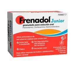 Comprar Frenadol Junior 10 Sobres