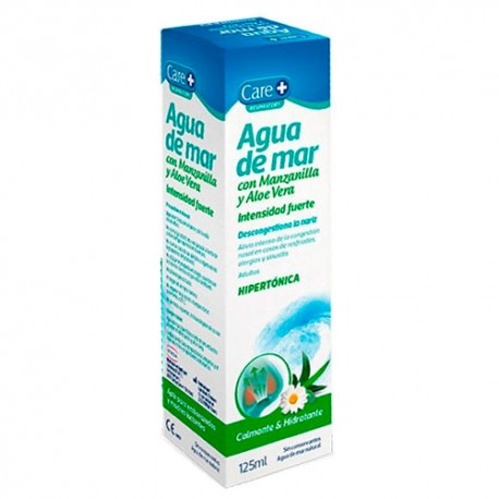 Care+ Agua De Mar Manzanilla Y Aloe Vera 125ml