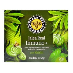 Black Bee Jalea Real Inmuno+ 20 Ampollas