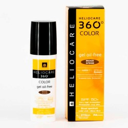 Comprar Heliocare 360° Color Gel Oil Free SPF 50+ 50ml Bronze Intense