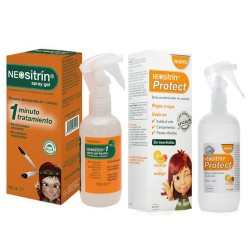 Comprar Neositrín Pack Antipiojos Protect Lendrera y Gel 100 ml