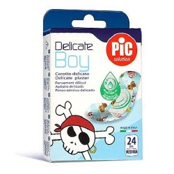 Comprar Pic Solution Apósito Delicado Antibacteriano Kids Boy 24uds