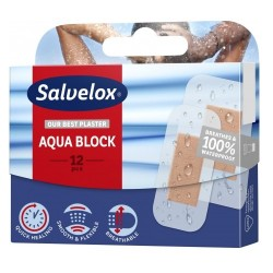 Salvelox 12 Apósitos Aqua Block