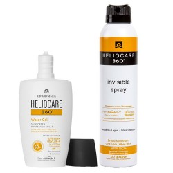 Heliocare 360º Pack Invisible Spray + Water Gel