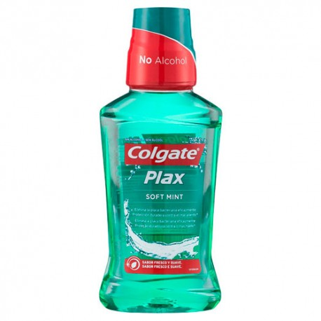 Colgate Plax Soft Mint Enjuague Bucal 250ml