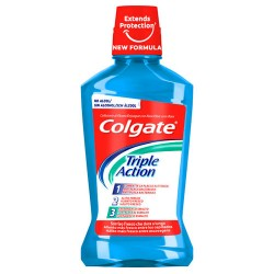 Colgate Triple Action Enjuague Bucal 500ml