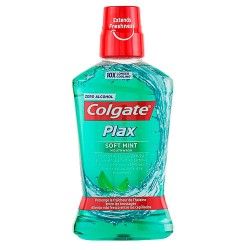 Colgate Plax Soft Mint Enjuague Bucal 500ml