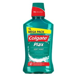 Colgate Plax Soft Mint Enjuague Bucal 1000ml