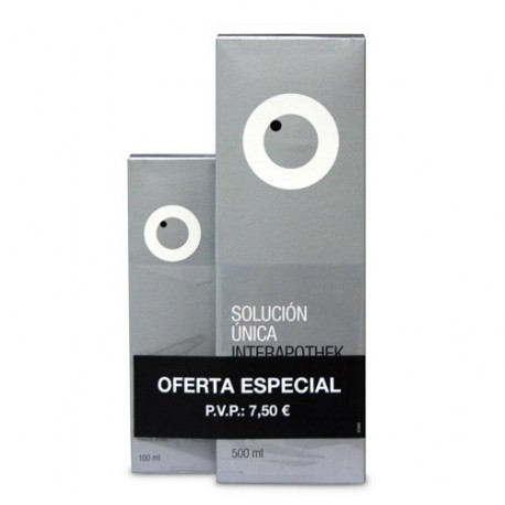 Interapothek Pack Solución Única 500ml + 100ml