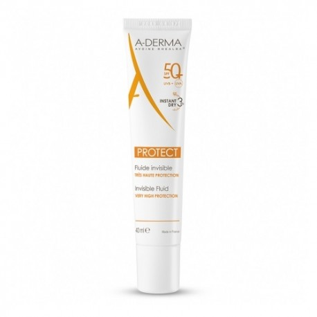 A-Derma Protect Fluido Invisible SPF50+ 40ml