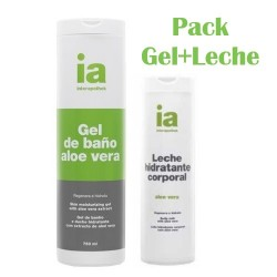 Interapothek Pack Gel+Leche Aloe Vera