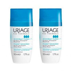 Uriage Desodorante Roll-On Antitranspirante Pack 2x50ml