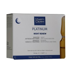 Comprar Martiderm Night Renew 10 Ampollas