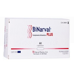 BINARVAL PLUS 60 CAPSULAS