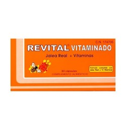 REVITAL JALEA REAL+VITAMINAS 30 CAPSULAS