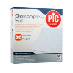 Comprar Pic Solution Gasas Stericompress Soft 10x10cm