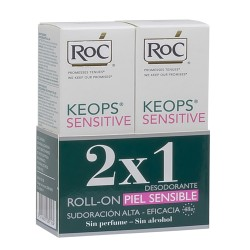 Comprar Roc Duplo Keops Sensitive Desodorante Roll-On 2 x 30 ml