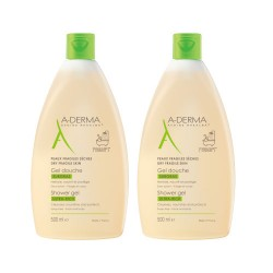 Aderma Gel Ducha Ultra Rico Duplo 2x500ml