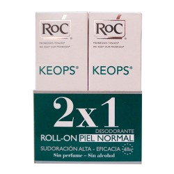 Roc Duplo Keops Piel Normal Desodorante Roll-On 2x30 ml