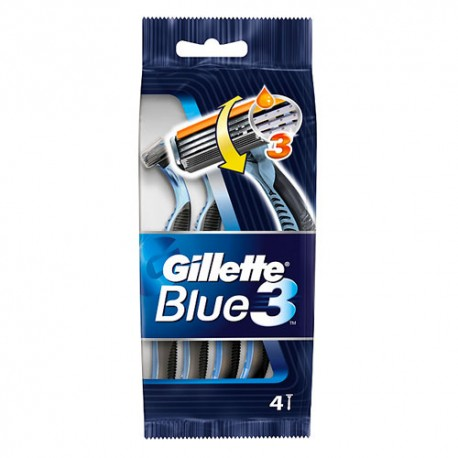 Gillette Blue3 4+1 Uds