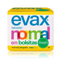 Evax Salvaslip Normal Fresh Bolsitas 20 Uds