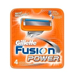 Gillette Fusion Power Recambios 4 Uds