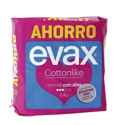 Evax Cottonlike Alas Normal 4x16 Uds