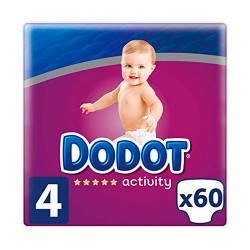 Dodot Activity Talla 4 60 Uds