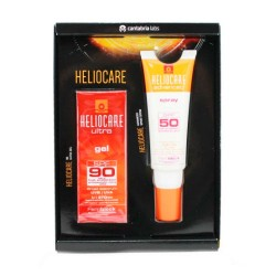 Comprar Heliocare Ultra Gel SPF 90 50 ml + Advanced Spray SPF50 75 ml