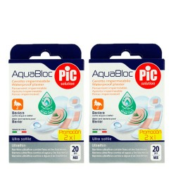 Comprar Pic Solution AquaBloc Antibacteriano 2x20 Unidades