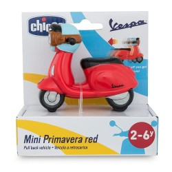 Chicco Vespa Turbo Touch Rojo.
