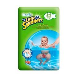 Comprar Huggies Little Swimmers Talla 3-4 12 Unidades