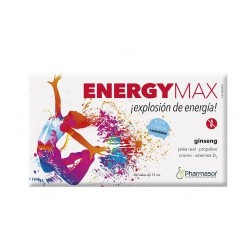 ENERGY MAX 20 VIALES 10ML HOMEOSOR