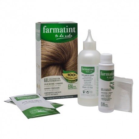Farmatint  6N Rubio Oscuro 150ml