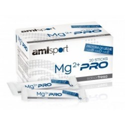 Comprar Amlsport Magnesio Mg2+ Pro 20 Sticks