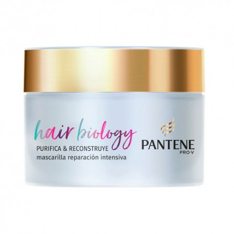 Pantene Pro-V Hair Biology Mascarilla Purifica & Reconstruye 160ml