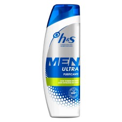 H&S Men Champú Ultra Purificante 600ml