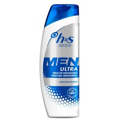 H&S Men Champú Ultra Frescor Instantáneo 600ml