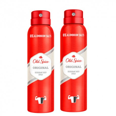 Old Spice Desodorante Spray Original Duplo 2x150ml