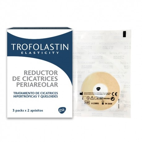 Trofolastin Reductor Cicatrices Periareolar 3x2 Parches