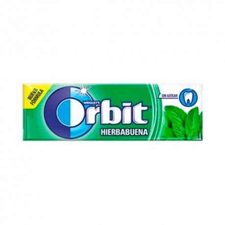 Orbit Gragea Chicles Hierbabuena