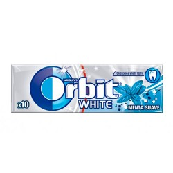 Orbit White Gragea Chicles Menta Suave