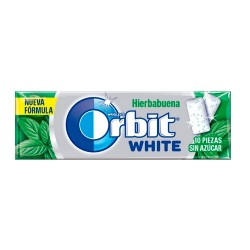 Comprar Orbit White Gragea Chicles Hierbabuena