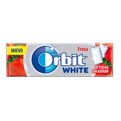 Orbit White Gragea Chicles Fresa