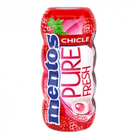Mentos Pure Fresh Chicles Fresa