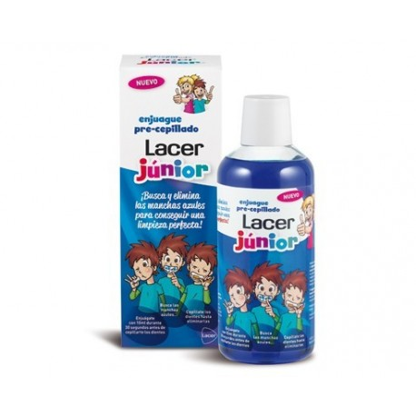Lacer Junior Colutorio Pre-Cepillado 500ml