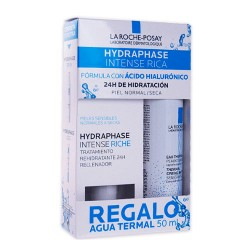 La Roche Posay Hydraphase Intense Rica 50ml + Agua Thermal Regalo