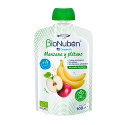 Comprar BioNubén Ecopouch Manzana y Plátano 100g