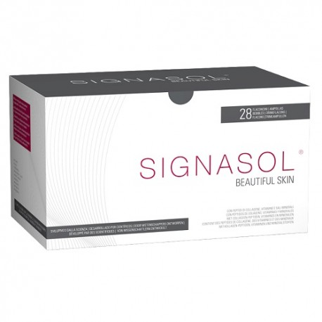 Signasol Colágeno Bebible 28 Ampollas 25ml