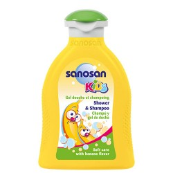 Comprar Sanosan Kids Banana Gel Y Champú 200ml